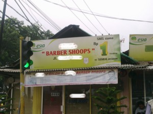 Barber Shoops? Excuse Me?
